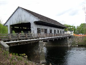 Covered Bridge Pictorial Pepperell MA